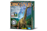 Dinoskelet-Brachiosaurus-uitgraven