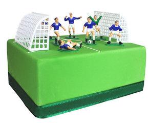 Alles voor een voetbaltaart/cake