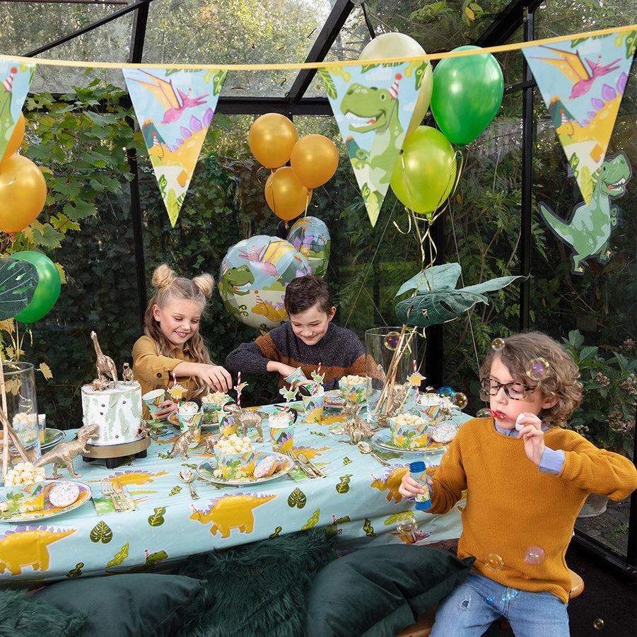 Dinosaurus-verjaardagsfeest