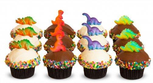 Taart-muffin-decoratie