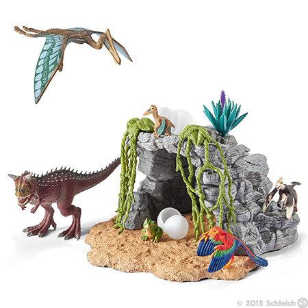 Schleich-dinosaurussen