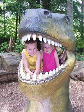dinofan Dylan en Cherise
