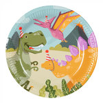 Dinosaurus feestbordjes