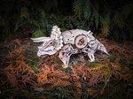 Modelbouw Triceratops