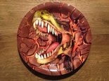 Laatste-bordjes-dinosaurusfeest-(bruin)-(8x)