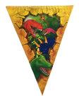 Vlaggenlijn-Dinosaurus