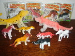 Groeiende-safari-dieren-in-een-zakje