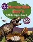 Stickerspeelboek: Wonderlijke dino's met 100 stickers