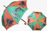 paraplu oranje groen