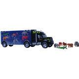 Truck met jungle dieren