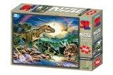 T-rex puzzel