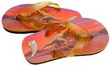 Dinosaurus T-rex slippers (rood) _
