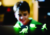 Glow in the dark 3D (wand/muur) Dinosaurus _