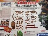Archeospel T-rex & Triceratops Wetenschap & Spel