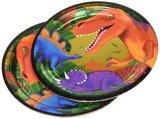 Bordjes (8x) 23 cm (Diplohosaurus Feest)_