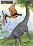 Dinosaurus Muurstickers Walldeco XXL_