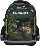 (UITVERKOCHT) Dinosaurus rugtas GROOT (38x28x18cm) _