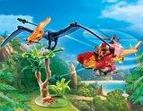 Helikopter met Pteranodon