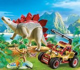 Explorersbuggy met stegosaurus