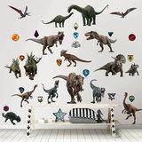 Muurstickers Jurassic World Walltastic _