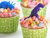 dinosaurus voor cake