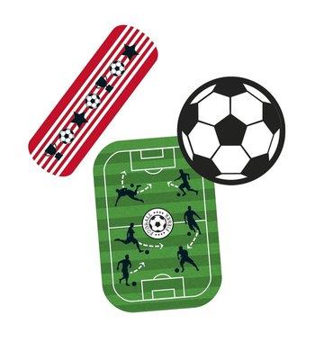 Voetbal pleisters (blikje) (20 stuks)