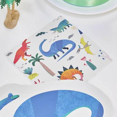 Servetten (20x) (Dinosaurus Feest)