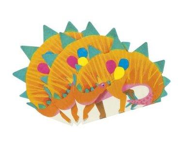 Stegosaurus servetten (16x) (Dinosaurus Feest)