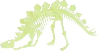 Glow in the dark bouwpakket dinosaurus