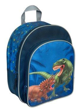 Dinosaurus rugtas (blauw) Medium