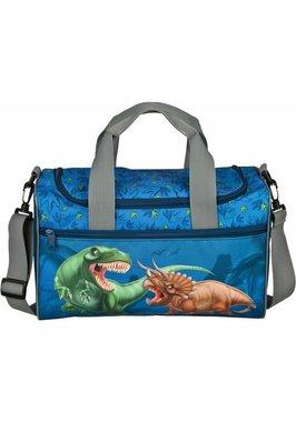 Dinosaurus schooltas - blauw