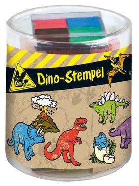Dino stempels (8 stuks)