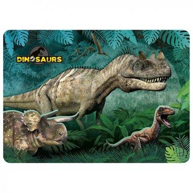 Dinosaurus placemat (groen)