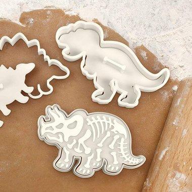 Dinosaurus koekjes uitsteekvormen (3x) Groot