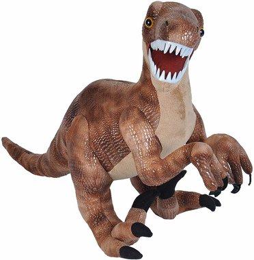 Velociraptor knuffel (groot) lengte 64 cm