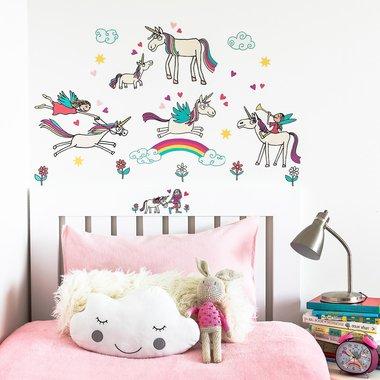 Vrolijke Unicorn stickers
