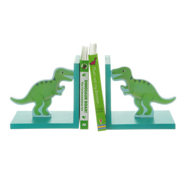 Dinosaurus Boekensteunen (2 stuks)
