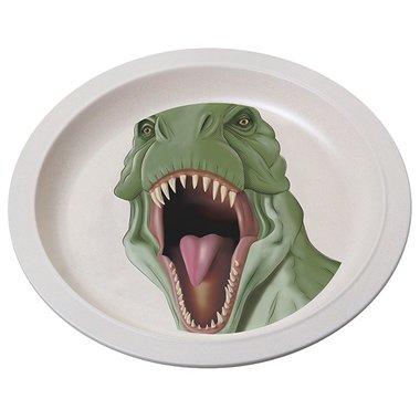 Bamboe bord - T-rex - groen