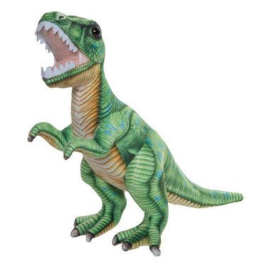 Tyrannosaurus Rex knuffel - groen (lengte 49 cm)