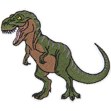 Dinosaurus Embleem Patche (T-rex)
