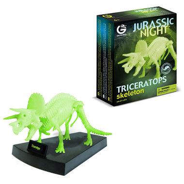 Bouwpakket Triceratops (glow)