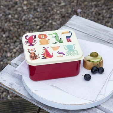 Brooddoos / Lunchbox - Dieren - Jungle