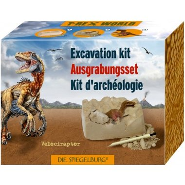 Dig it out: Velociraptor opgraafset
