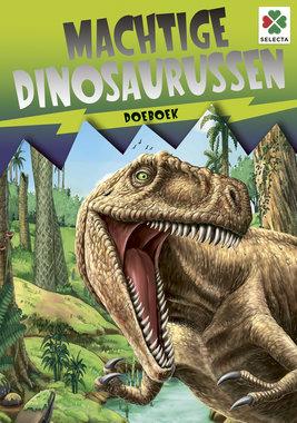 Spelletjes boek: Machtige dinosaurussen