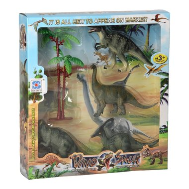 Dinosaurus speelset - giftbox