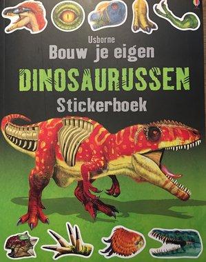 Stickerboek: Bouw je eigen dinosaurussen