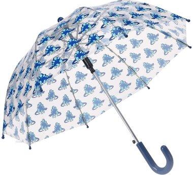 Stegosaurus Paraplu - blauw