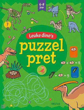 Leuke dino's puzzel pret (speel,- & puzzelboek)