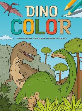Dinosaurus kleurblok
