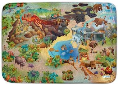 Dinosaurus speelkleed (100 x 150 cm)